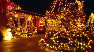 Prelit Christmas Tree That Lifts Itself by Christmas Lights Blur Wallpaper Hd Wallpapers Ololoshka