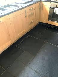 kitchen porcelain tile kitchen floor stove island quartz