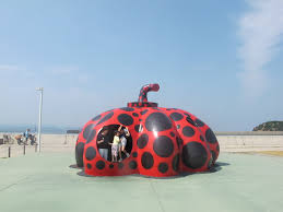 Yayoi Kusama Pumpkin by Embark On An Art Journey Highlights From The Setouchi Triennale
