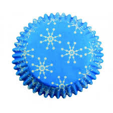 PME Snowflake Standard Cupcake Cases Pack Of 60 The Cake Decorating Shop