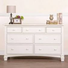 Sorelle Verona Double Dresser Combo French White by Baby Cache Harbor 7 Drawer Dresser White Baby Cache Babies