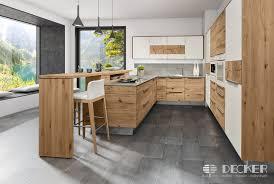 massivholzküche decker in der küchenwelt pfiff möbel