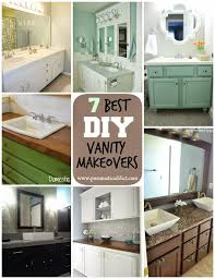 7 Best DIY Bathroom Vanity Makeovers | Home Sweet Home | Diy ... Bathroom Vanity Makeover A Simple Affordable Update Indoor Diy Best Pating Cabinets On Interior Design Ideas With How To Small Remodel On A Budget Fiberglass Shower Lovable Diy Architectural 45 Lovely Choosing The Right For Complete Singh 7 Makeovers Home Sweet Home Outstanding Light Cover San Menards Black Real Bar And Bistro Sink Pictures Competion Pics Bathrooms Spaces Decor Online Serfcityus