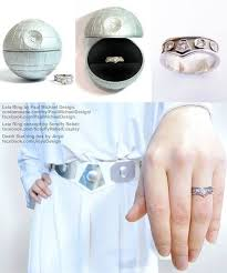 An Engagement Ring Fit For A Kick Ass Space Princess