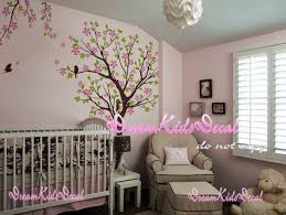 Tree Wall Decor With Pictures by Cherry Blossom Tree Wall Decals Nursery Wall Decals Children