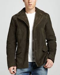 Vince Sherpa Lined Cord Barn Jacket In Natural For Men | Lyst Womens Brown Shearling Sheepskin Duffle Coat Daria Uk Lj Coach Jacket In Green For Men Lyst Taylor Stitch Blanket Lined Barn Jacket Huckberry Consume Urban Outfitters Uo Faux Barn And Wool Shop Jackets Peter Millar Cortina Leather Fur Fashion 2017 Weatherproof Fauxshearling For Women Save 50 237 Best Sheepskins I Love Images On Pinterest Bogoli Lamb Amazoncom Mountain Khakis Mens Ranch Sports