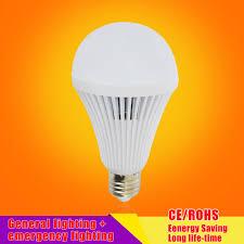led smart bulb e27 7w 9w led emergency light rechargeable battery