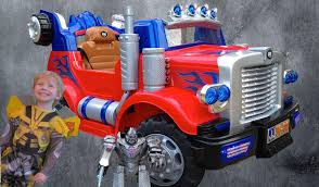 Ride On Optimus Prime Truck - Unboxed & Reviewed With Transformer ... Jeronimo Monster Ride On Truck Details About 12v Kids On Car Rc Remote Control W Led Jual Obral Tomindo Toys Ct619 Biru Mainan Anak Amazoncom Costzon Jeep 2wd Powered Manual Fire More Onceit Best Choice Products Semi Big Shop Costway Suv Mp3 Electric Cars For Toddlers Jay Goodys Forklift With Combustion Engine Rideon Truckmounted Handling Rideon Toy Trucks Ragle Design