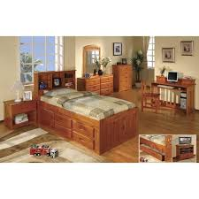 Twin Captains Bed With 6 Drawers by Ne Kids Merlot Twin Bookcase Bed Full Bookcase Bed Captain Bed
