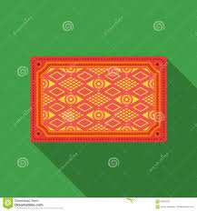 Download Turkish Carpet Icon In Flate Style Isolated On White Background Turkey Symbol Stock Vector