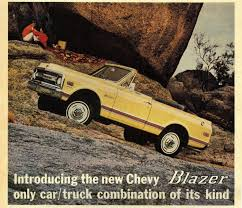 100 Blazer Truck A Brief History Of The First Generation Chevrolet K5