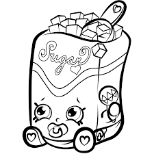 Find More Coloring Pages Online For Kids And Adults Of Sugar Lump Shopkins Season To Print