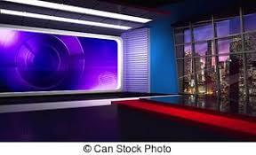 News TV Studio Set 305