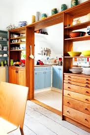 Divider Between Kitchen And Living Room Separator Ideas Partition Wood Dining