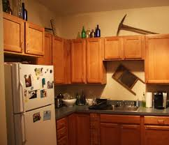 Top Of Kitchen Cabinet Decor Ideas Video And Photos Madlonsbigbear Com