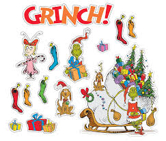 The Grinch Christmas Tree Quotes by Amazon Com Paper Magic Eureka Dr Seuss 35 Quotes Bulletin Board