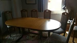 esszimmer mit 6 stühlen zu verschenken in 67310