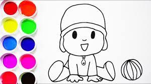 Dibujos Para Colorear De Pocoyo Wwwmiifotoscom