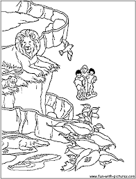 Zoo Scene Coloring Page