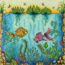 Fish Secret Garden By Ale Bavaresco