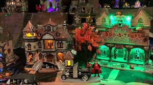Lemax Halloween Village 2017 by Lemax 2017 Spooky Town Village Collection Youtube
