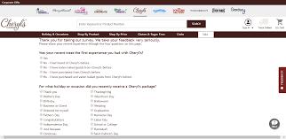 Cheryl's Cookies Survey – Win A Gift - Survey Help