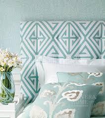 bridge hton new yorker stil geometrische tapete amerikanischer stil weiß grau blau grün silber