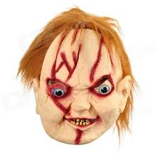 Chucky Halloween Mask by Jmg001 Scary Scarred Face Chucky Mask For Halloween Costume