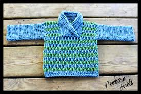 crochet pattern for baby boy or rippled shawl color sweater