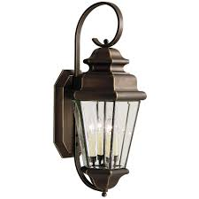 kichler estate oversize 36 inch outdoor wall light