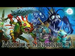 hearthstone murloc shaman deck guide youtube