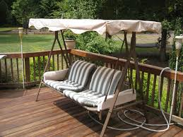 Allen And Roth Patio Cushions by Decorating Loveseat With Red Lowes Patio Cushions Plus Table For