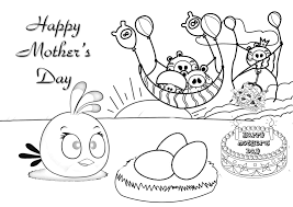 Mothers Day Coloring Pages Printable 2