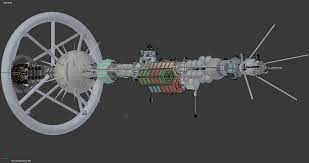 Starship Deck Plan Generator by Spaceship Freehauler Alcione