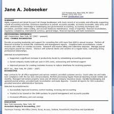 Full Charge Bookkeeper Resume Wondeful 59 New Entry Level Sample Template Free
