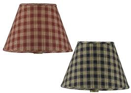 Large Punched Tin Lamp Shades by Primitive Country Lamp Shades