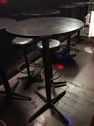 1 High Round Table And 4 High Chairs Set $50, Furniture ...