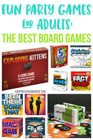 Fun Party Board Games For Adults