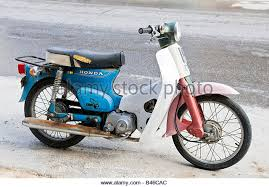An Old Honda Scooter