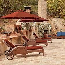 Market Umbrellas 49 95 Attractive by Amazon Com Classic Accessories Ravenna Square Fire Pit Table