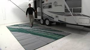 Reversible Patio Mat 8 X 16 by Review Of The Faulkner 8x16 Summer Waves Rv Mat Etrailer Com