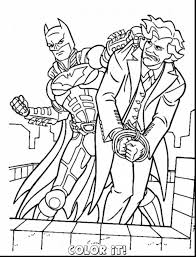 Stunning Batman And Joker Coloring Pages Printable With Page For