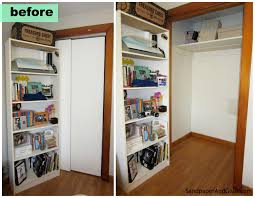 how to turn your closet into an office marchetti