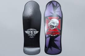 Powell Peralta Tony Hawk Skateboard Decks by Powell Peralta 10 4 Bones Brigade Tony Hawk Retro Skateboard Deck