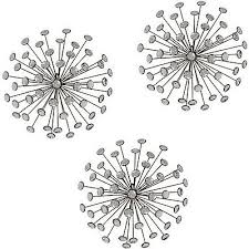 Burst Wall Decor Stratton Home Set Of 3 Gold