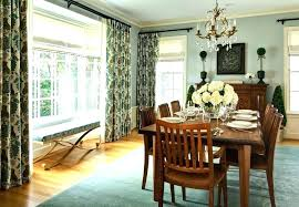 Dining Room Curtains Casual Curtain Ideas Modern