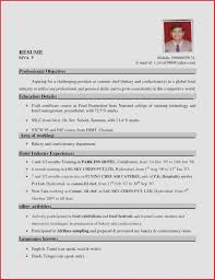 Sample Resume For Hospitality Students New Examples Best Format Hotel