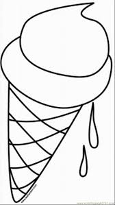 Glass Coloring Pages Crayola Photo Unbelievable Ice Cream Outline Printable Clip Art Pics Sundae