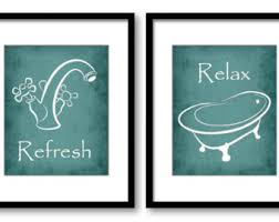 Yellow Gray And Teal Bathroom by Gray Grey Bathroom Decor Bathroom Print Bathroom Art Prints