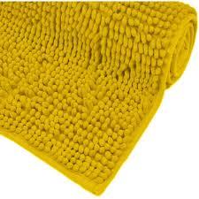bad teppich rutschfeste gelbe bad teppiche weich und saugfähig sein um dusche 80x50 cm